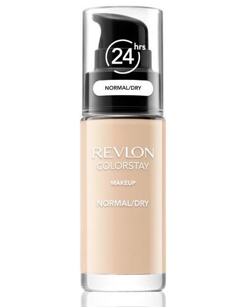 Revlon Fond de ten pentru ten normal și uscat cu pompițăColorstay (Makeup Normal/Dry Skin) 30 ml 330 Natural Tan