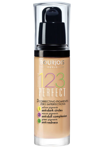 Bourjois Make-up pro perfektní pleť SPF 10 (123 Perfect) 30 ml 53 Beige Clair
