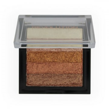 Makeup Revolution London Shimmer Brick rozjasňovač Radiant 7 g