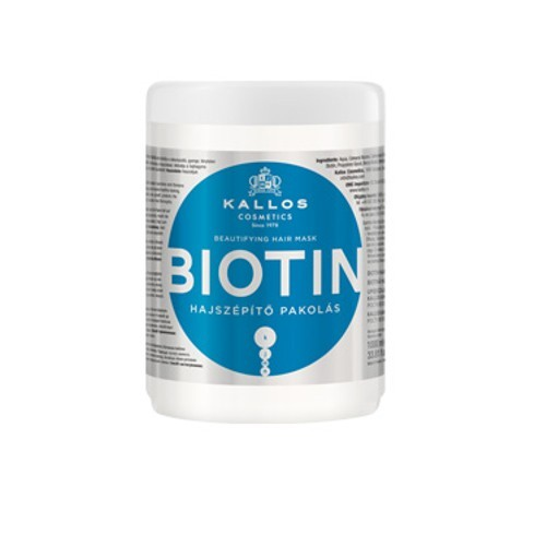 Kallos Maska na vlasy s biotinem (Biotin Beautifying Hair Mask) 275 ml