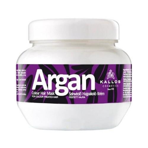 Kallos Maska pro barvené vlasy Argan (Colour Hair Mask) 275 ml