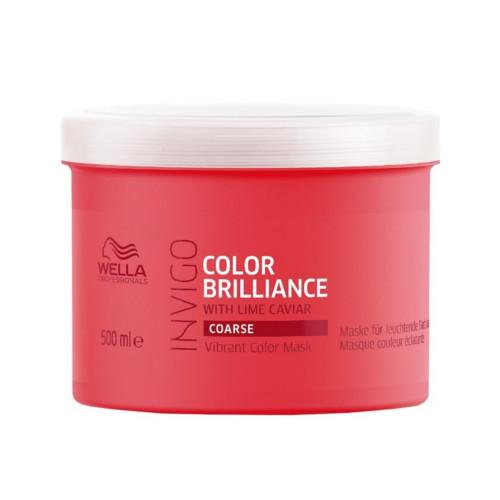 Wella Professionals Mască pentru păr aspru vopsit Invigo Color Brilliance Mask (Vibrant Color Mask) 150 ml