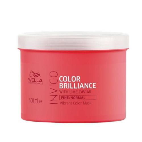 Wella Professional Maska pro jemné barvené vlasy Invigo Color Brilliance (Vibrant Color Mask) 30 ml