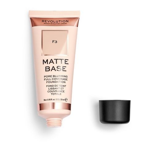 Makeup Revolution Plne krycie a zmatňujúci make-up Matte Base Foundation F0.5 28 ml