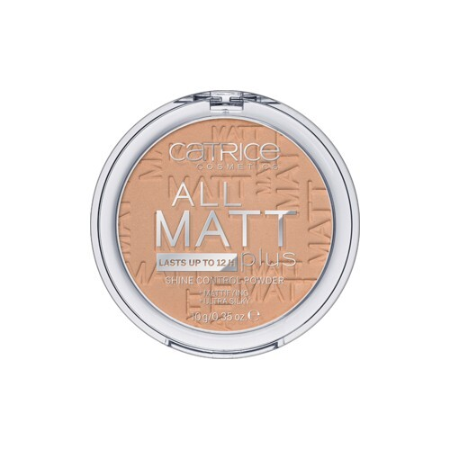 Catrice Matující pudr All Matt Plus (Shine Control Powder) 10 g 010 Transparent