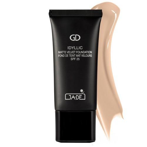GA-DE Zmatňujúci zamatovo jemný make-up SPF 25 (Idyllic Matte Velvet Foundation) 30 ml No. 108 Honey Beige