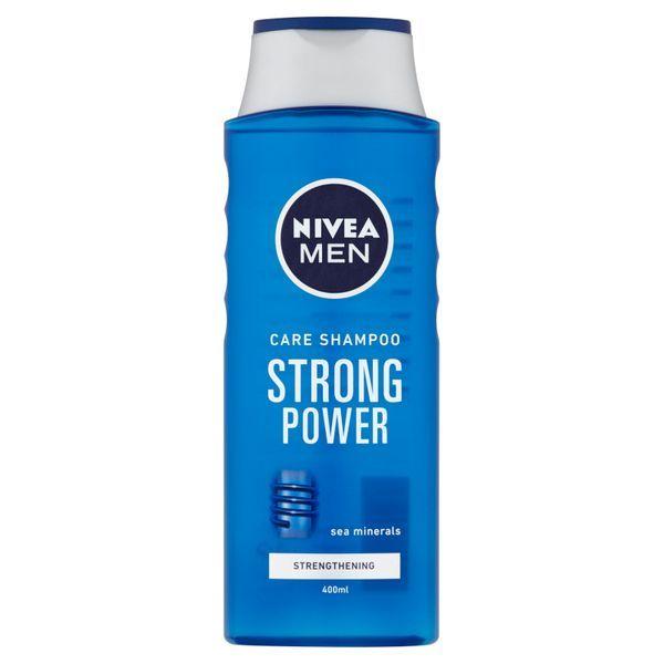 Nivea Šampón pre mužov Strong Power 400 ml