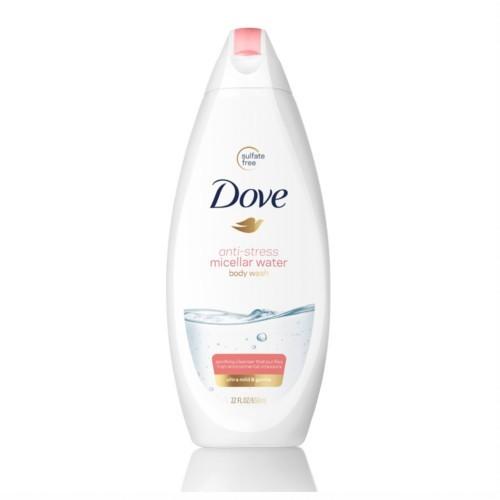 Dove Micelární sprchový gel Anti-Stress (Micellar Water Shower Gel) 500 ml