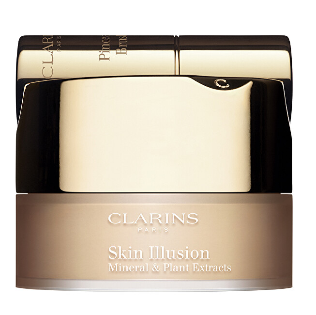 Clarins Minerálny púder Skin Illusion ( Mineral & Plant Extracts) 13 g 105 Nude