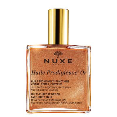 Fotografie Nuxe multifunkční suchý olej se třpytkami Huile Prodigieuse OR (Multi-Purpose Dry Oil) 100 ml