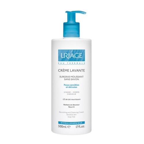 Uriage Umývací krémový gél bez obsahu mydla ( Cleansing Cream) 500 ml