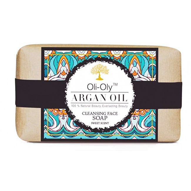 Oli-Oly Mýdlo na obličej s arganovým olejem 50 g Sladká vůně - Sweet