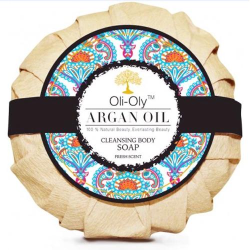 Fotografie Oli-Oly Luxusní mýdlo na tělo s arganovým olejem 99 g