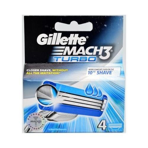 Gillette Náhradné hlavice Gillette Mach3 Turbo 8 ks