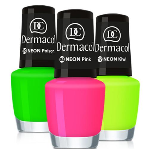 Dermacol Neonový lak na nehty 5 ml č.3 Pink