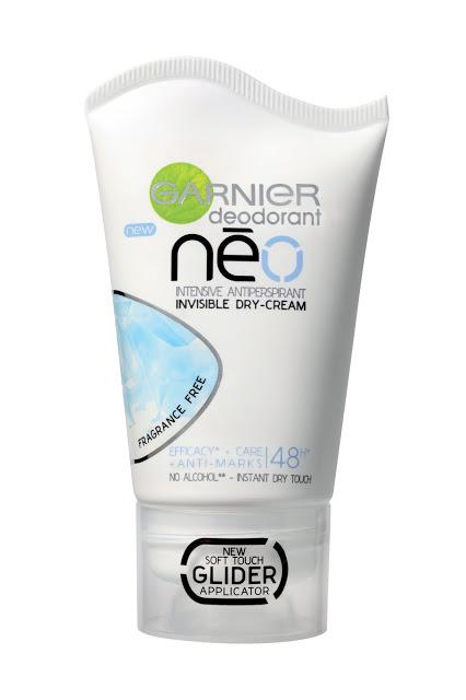 Garnier Neviditelný krémový antiperspirant Néo 40 ml Fruity Flower