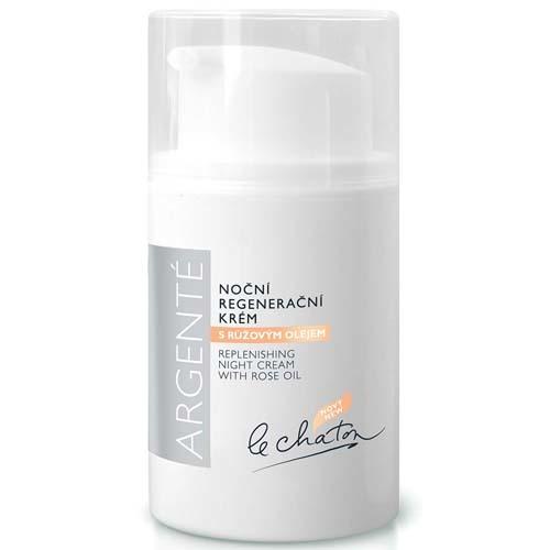Le Chaton Noční regenerační krém s růžovým olejem 50 g