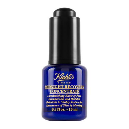 Kiehl´s Nočné regeneračné olejové sérum pre svieži vzhľad pleti (Midnight Recovery Concentrate ) 15 ml