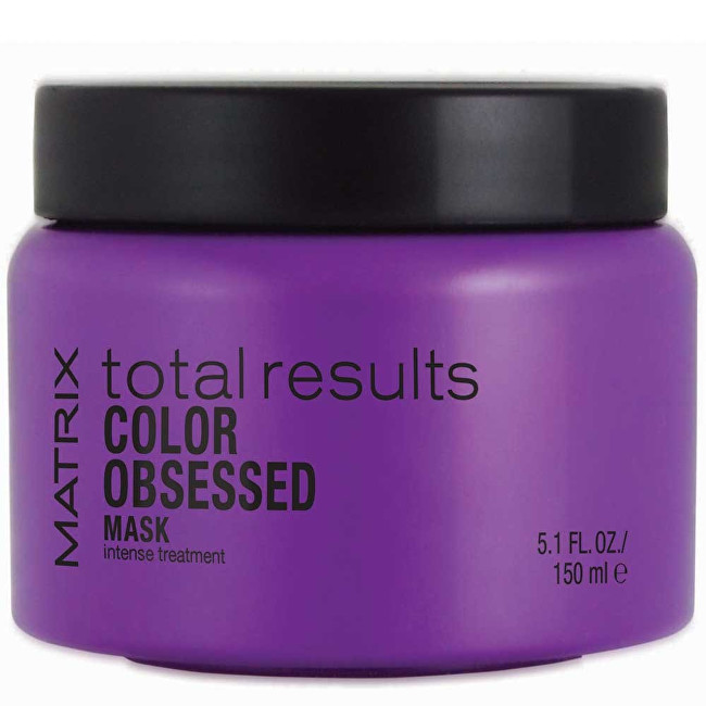 Matrix Obnovujúci maska ​​pre farbené vlasy Total Results Color Obsessed (Mask Intense Treatment) 150 ml