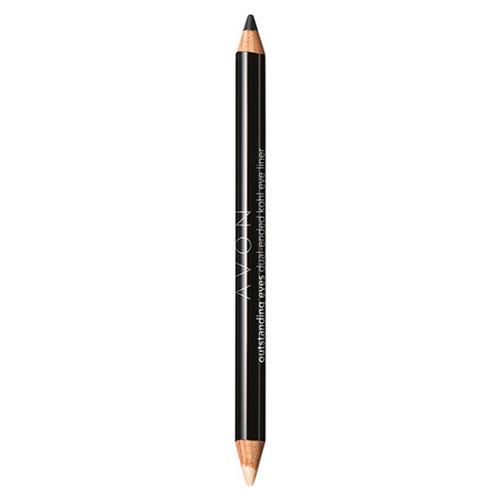 Avon Oboustranná tužka na oči (Outstanding Eyes Dual-Ended Khol Eye Liner) 0,96 g Brown Shimmer Duo