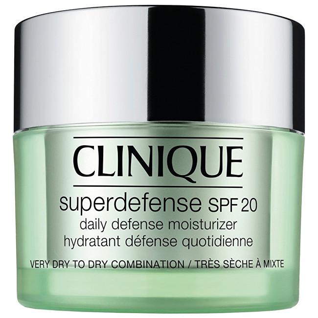 Clinique Ochranný hydratační krém pro velmi suchou až smíšenou pleť Superdefense SPF 20 (Daily Defense Moisturizer) 50 ml