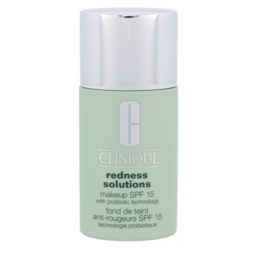 Clinique Make-up protector împotriva pielii roșii SPF 15 Redness Solutions (Makeup SPF 15 With Probiotic Technology) 30 ml Vanilla