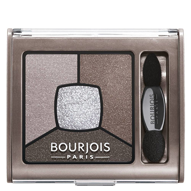 Bourjois Oční stíny (Smoky Stories Quad Eyeshadow Palette) 3,2 g 01 Grey & Night