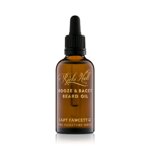 Captain Fawcett Olej na bradu Ricki Hall`s Booze   BACCI (Beard Oil) 10 ml