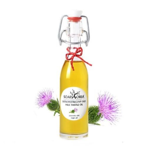 Soaphoria Organický kosmetický olej Ostropestřecový (Milk Thistle Oil) 50 ml