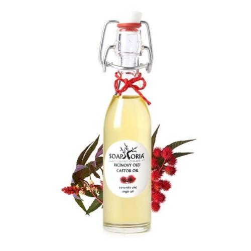 Soaphoria Organický kosmetický olej Ricinový (Castor Oil) 150 ml