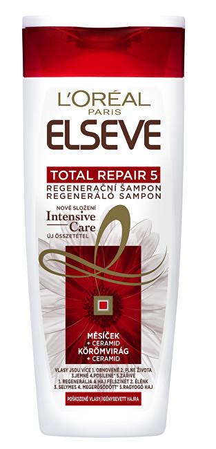 Loreal Paris Ošetřující šampon pro poškozené vlasy Elseve (Total Repair 5 ) 250 ml