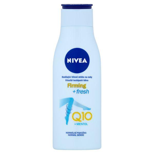 Nivea Osvěžující tělové mléko na nohy s koenzymem Q10 (Firming & Fresh) 200 ml