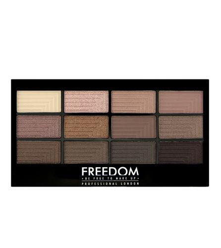 Freedom Paletka 12 očních stínů Audacious 3 (Freedom Pro Audacious 3 Palette) 12 g Audacious 3