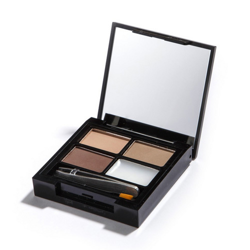 Revolution Paletka na úpravu obočia Focus & Fix Brow Kit (EyeBrow Shaping Kit) Light Medium