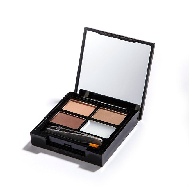 Revolution Paletka na úpravu obočí Focus & Fix Brow Kit (EyeBrow Shaping Kit) Light Medium