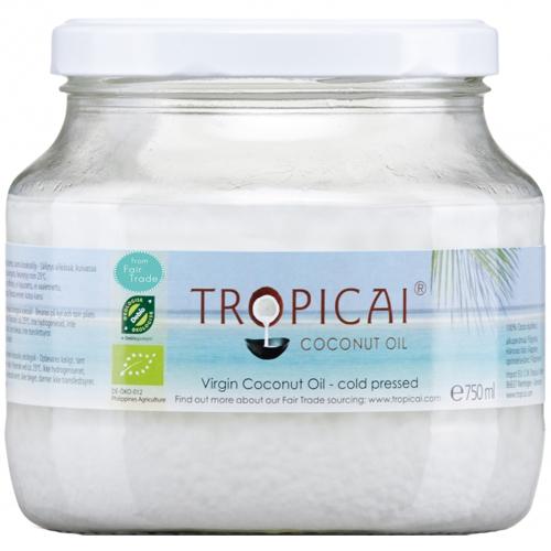 Ostatní Panenský kokosový olej Tropicai 340 ml