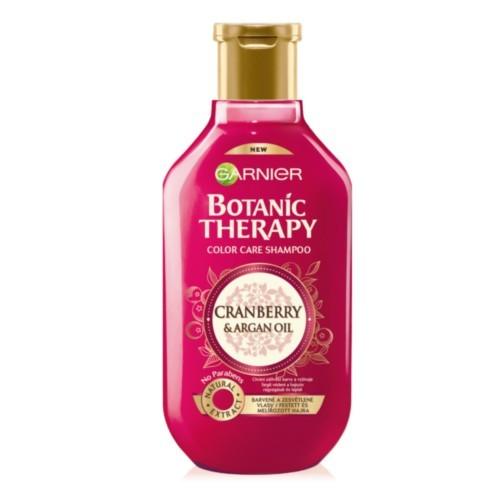 Garnier Pečující šampon s arganovým olejem a brusinkou na barvené a zesvětlené vlasy Botanic Therapy (Color Care Shampoo) 250 ml