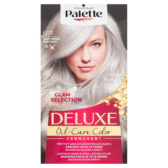 Schwarzkopf Permanentní barva na vlasy Palette Deluxe U71 Ledový stříbrný