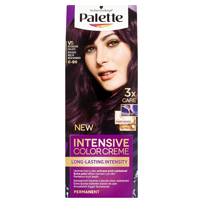 Schwarzkopf Permanentní barva na vlasy Palette Intensive Color Creme 5-68 (R4) Kaštanový