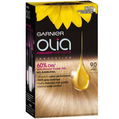 Garnier Permanentní olejová barva na vlasy bez amoniaku Olia 5.3 zlatá hnědá