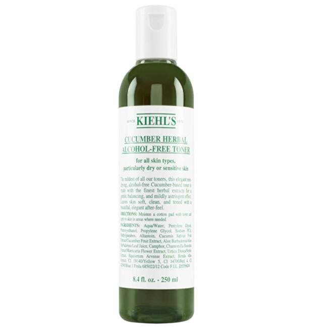 Kiehl´s Pleť ové tonikum bez alkoholu Cucumber Herbal (Alcohol-Free Toner) 250 ml