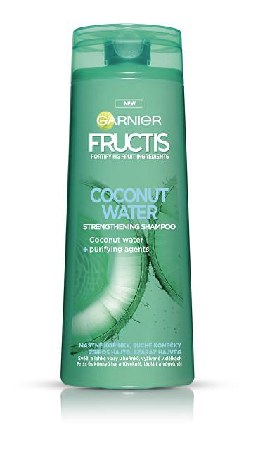 Garnier Posilující šampon na mastné kořínky vlasů Coconut Water (Strengthening Shampoo) 400 ml