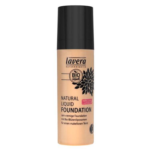 Lavera Přírodní a organický fluidní make-up (Natural Liquid Foundation) 30 ml 02 slonová kost - tělová