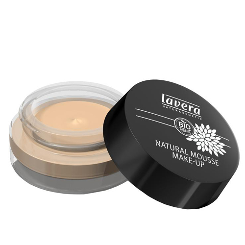 Lavera Prírodný penový make-up (Natural Mousse Make-up) 15 g 01 slonová kost