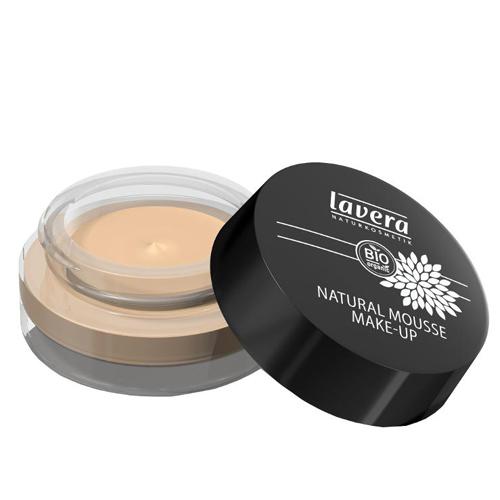 Lavera Přírodní pěnový make-up (Natural Mousse Make-up) 15 g 01 slonová kost