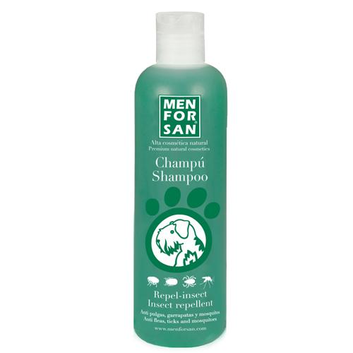 Zobrazit detail výrobku Menforsan Přírodní repelentní šampon proti hmyzu pro psy (Shampoo Insect Repellent) 1000 ml