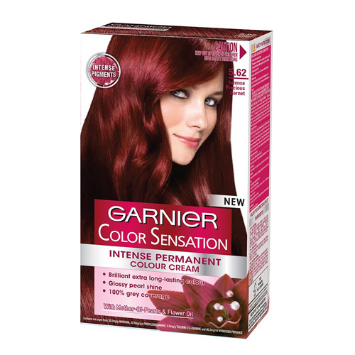 Garnier Přírodní šetrná barva Color Sensation 1.0 Ultra černá