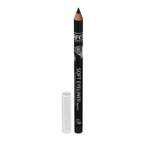Lavera Přírodní tužka na oči 1,14 g Černá