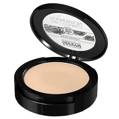 Lavera Pudrový make-up 2v1 (2in1 Compact Foundation) 10 g 03 med