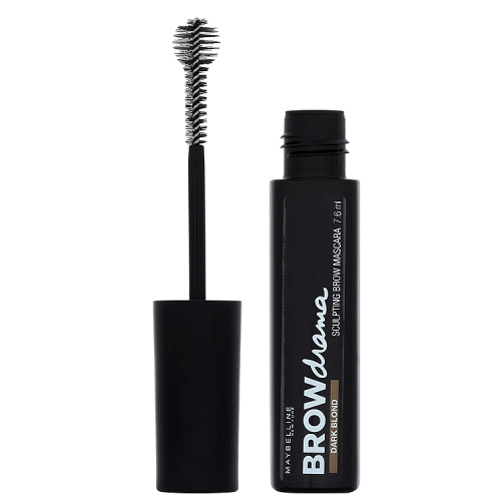 Maybelline Rimel pentru sprâncene Brow Drama (Sculpting Brow Mascara) 7,6 ml Dark Blond
